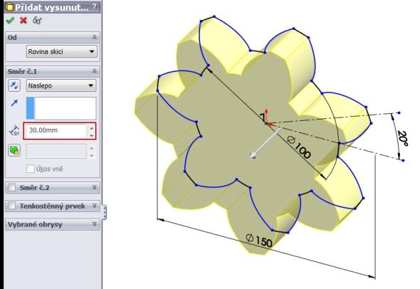 13-evolventa-SolidWorks-ozubeni-parametricka-rovnice-křivka
