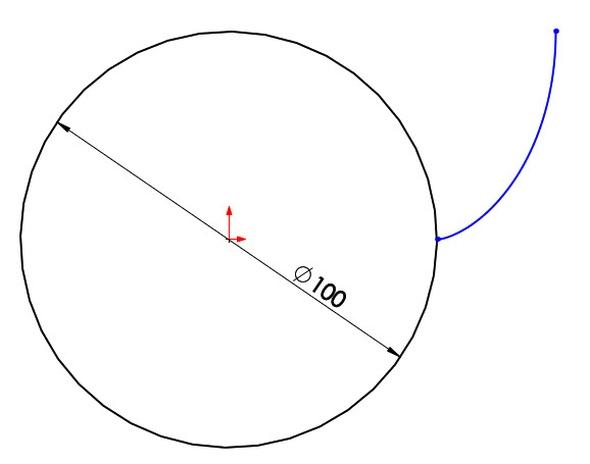 5-evolventa-SolidWorks-ozubeni-parametricka-rovnice-křivka
