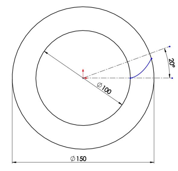 7-evolventa-SolidWorks-ozubeni-parametricka-rovnice-křivka