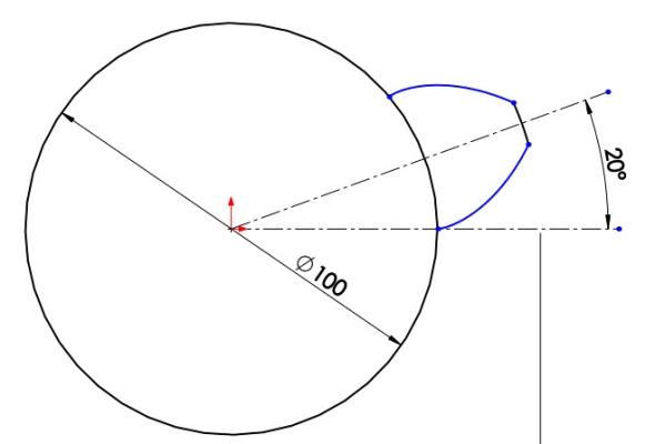 9-evolventa-SolidWorks-ozubeni-parametricka-rovnice-křivka