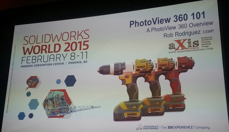 1-konference-SolidWorks-World-Phoenix-PhotoView360-2015