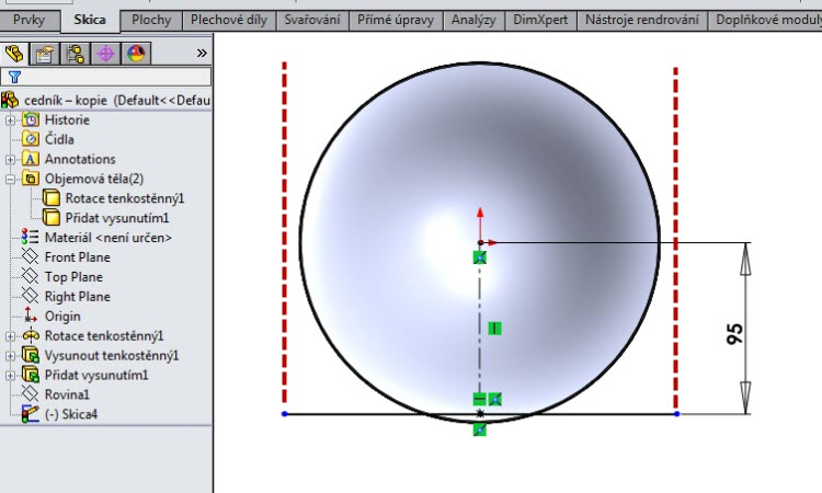 11-SolidWorks-Boolovske-operace-cednik-postup-navod