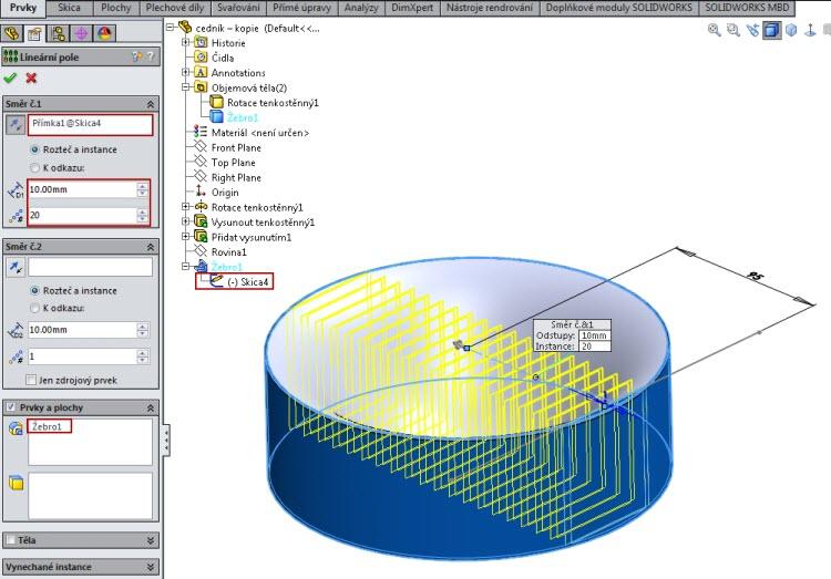 13-SolidWorks-Boolovske-operace-cednik-postup-navod
