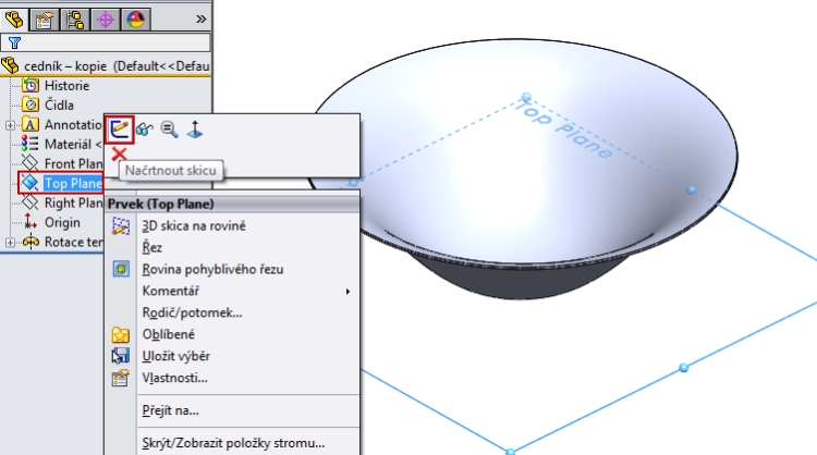5-SolidWorks-Boolovske-operace-cednik-postup-navod
