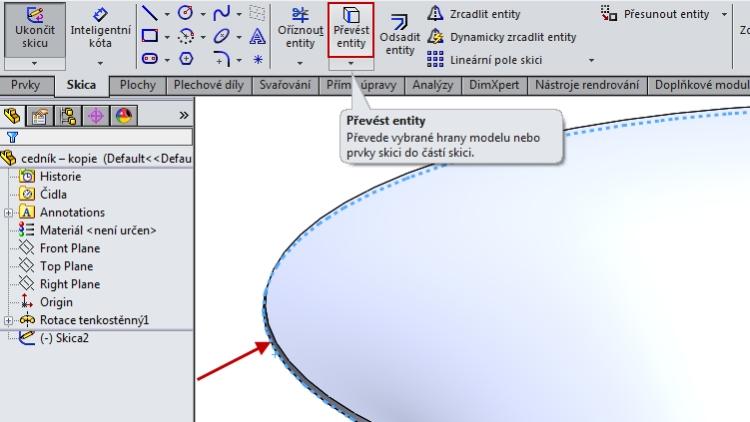 6-SolidWorks-Boolovske-operace-cednik-postup-navod