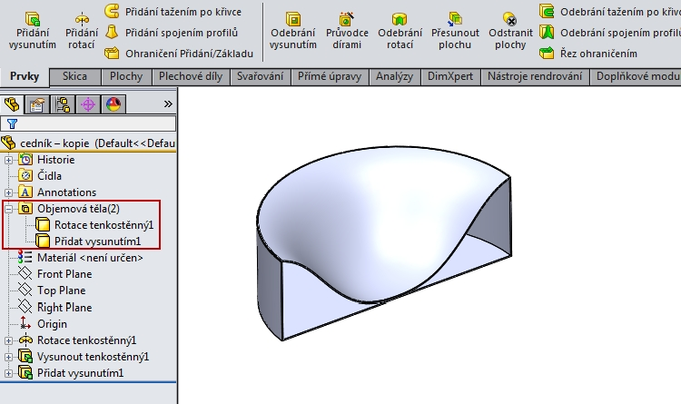 9-SolidWorks-Boolovske-operace-cednik-postup-navod