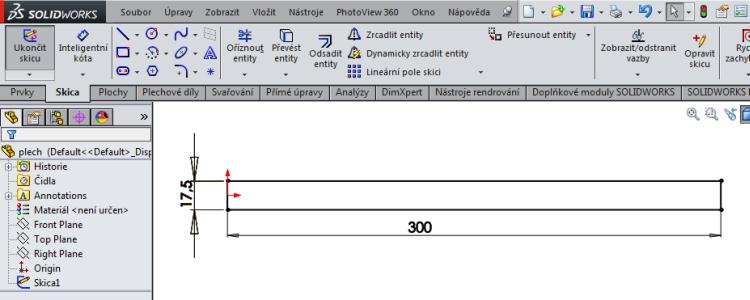 1-SolidWorks-konfigurace-navod-liearni-pole-stejna-roztec