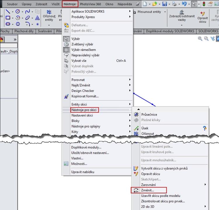 1-SolidWorks-nacrt-prace-posunout-otocit-měritko