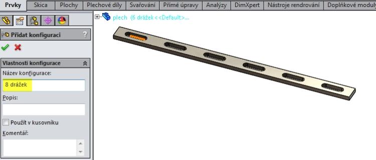 11-SolidWorks-konfigurace-navod-liearni-pole-stejna-roztec