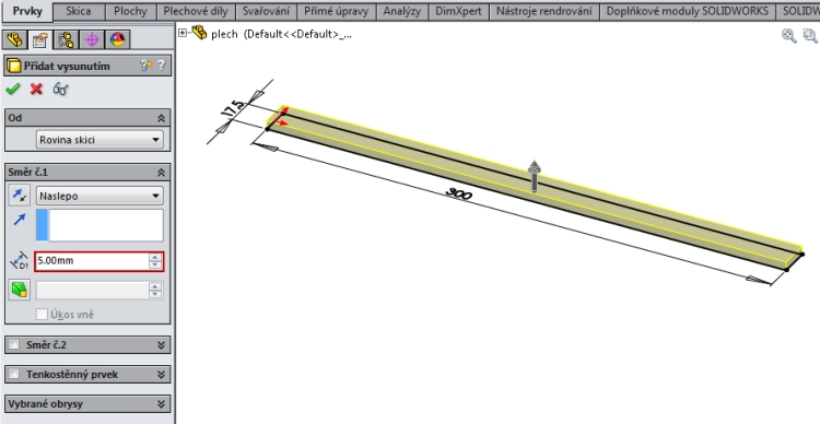 2-SolidWorks-konfigurace-navod-liearni-pole-stejna-roztec