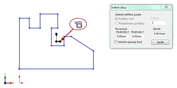 7-SolidWorks-nacrt-prace-posunout-otocit-měritko
