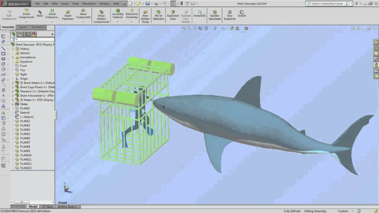 1-SOLIDWORKS-Simulation-Swims-with-the-Sharks