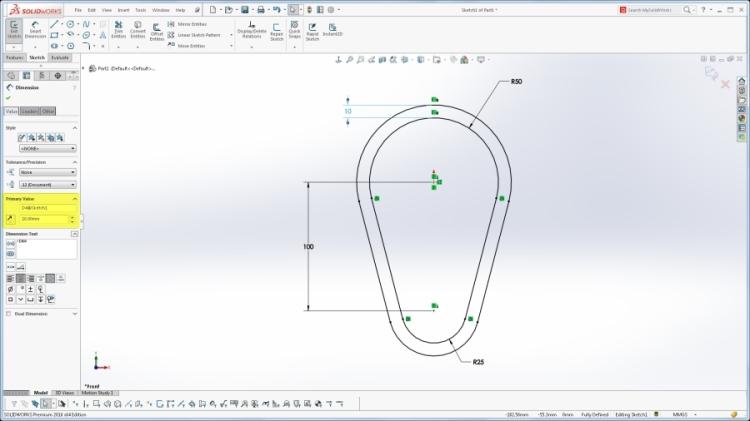 Jednou z mnoha novinek je funkce Obrácení směru odsazené skici. Obr.: SolidWorks Tech Blog