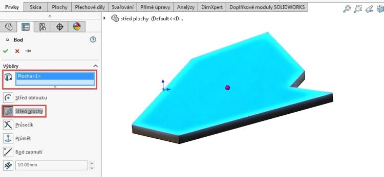 3-stred-plochy-navod-SolidWorks-jak-najit