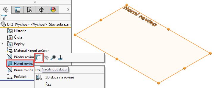 1-model-potrubi-SolidWorks-tutorial-navod-postup