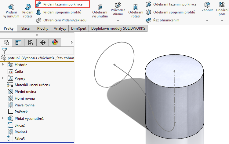 10-model-potrubi-SolidWorks-tutorial-navod-postup
