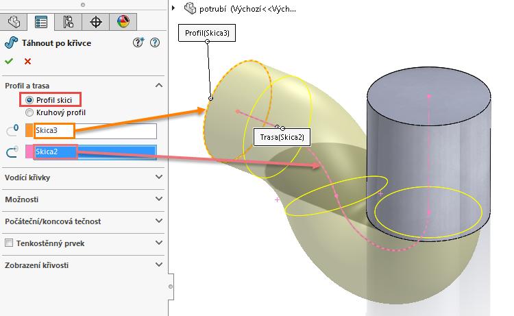 11-model-potrubi-SolidWorks-tutorial-navod-postup