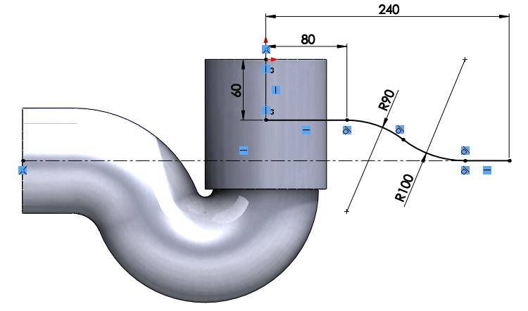 12-model-potrubi-SolidWorks-tutorial-navod-postup