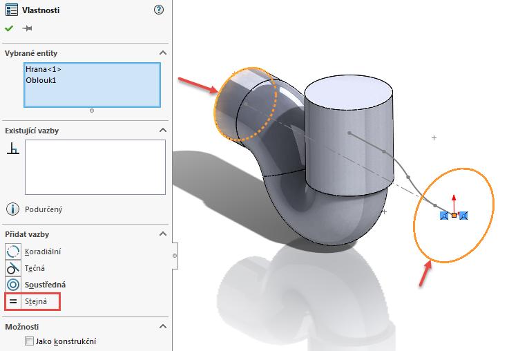 14-model-potrubi-SolidWorks-tutorial-navod-postup