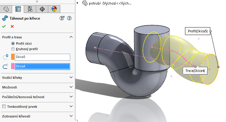 16-model-potrubi-SolidWorks-tutorial-navod-postup