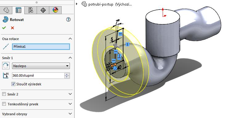19-model-potrubi-SolidWorks-tutorial-navod-postup