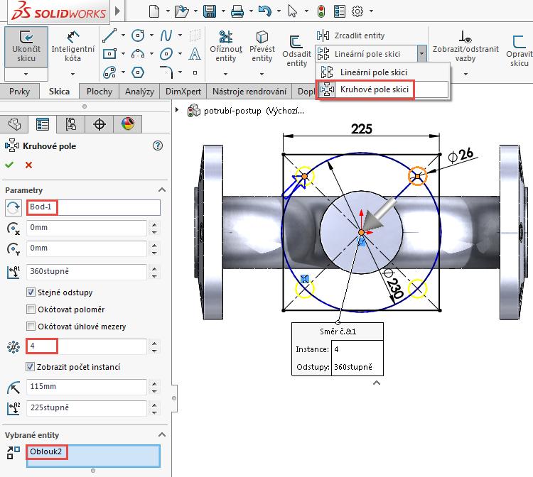 35-model-potrubi-SolidWorks-tutorial-navod-postup