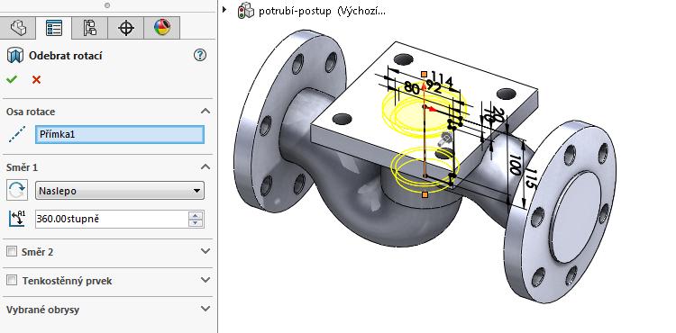 39-model-potrubi-SolidWorks-tutorial-navod-postup