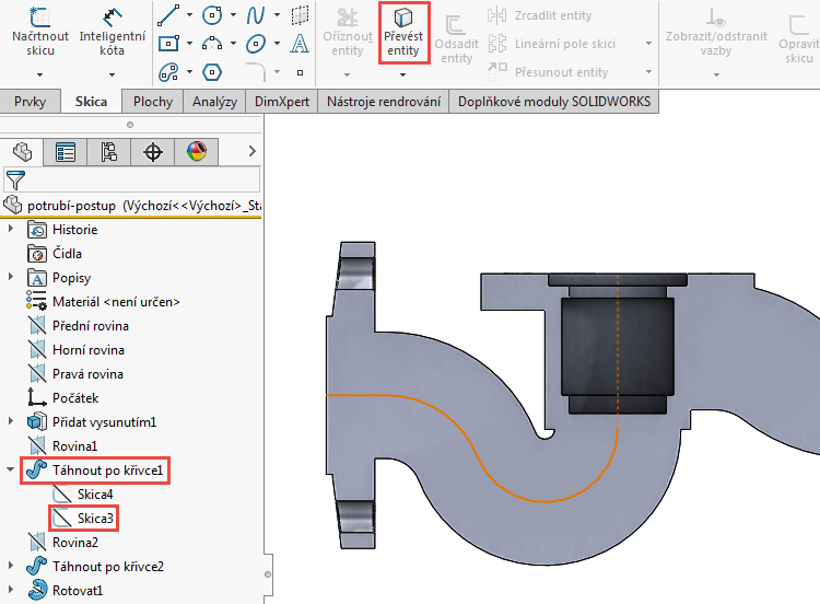 41-model-potrubi-SolidWorks-tutorial-navod-postup