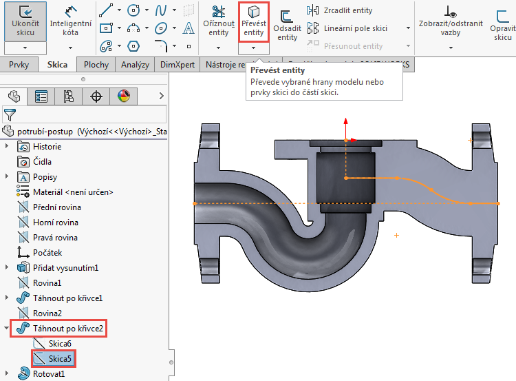 47-model-potrubi-SolidWorks-tutorial-navod-postup