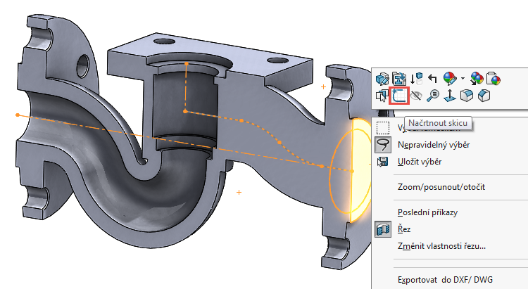 48-model-potrubi-SolidWorks-tutorial-navod-postup