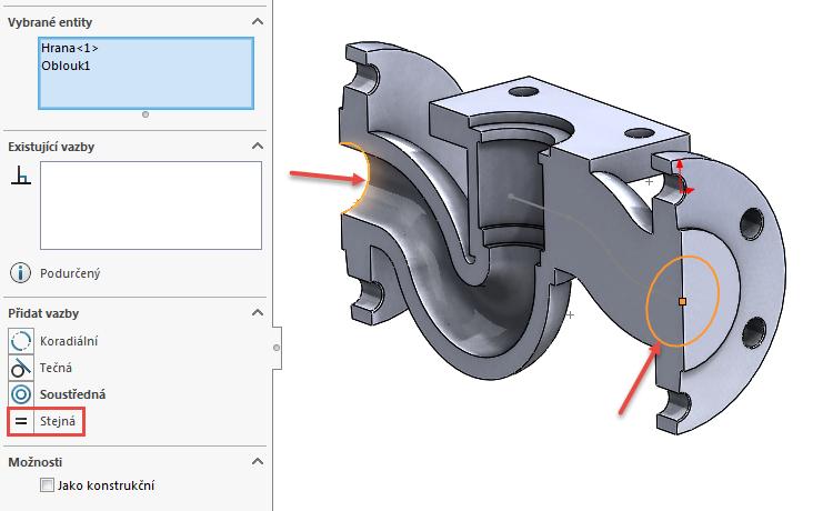 49-model-potrubi-SolidWorks-tutorial-navod-postup