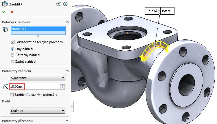 57-model-potrubi-SolidWorks-tutorial-navod-postup