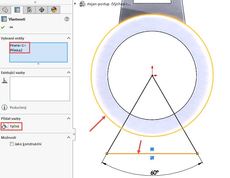 13-SOLIDWORKS-modelovaci-navod-postup-tutorial-stojan-pevnostni-analyza