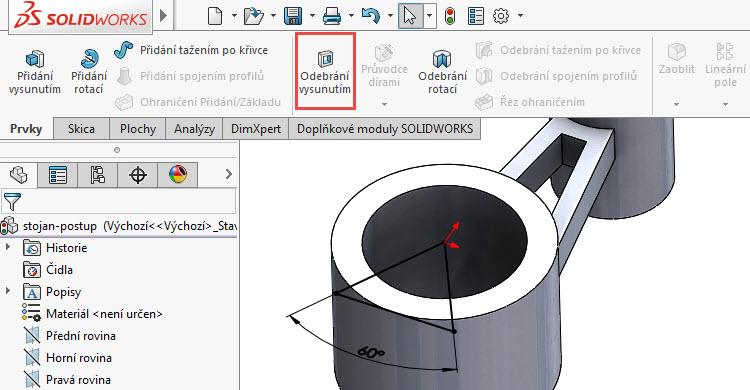 14-SOLIDWORKS-modelovaci-navod-postup-tutorial-stojan-pevnostni-analyza