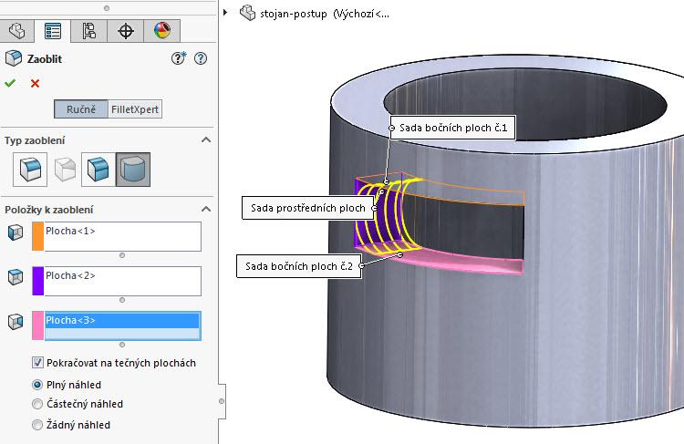 20-SOLIDWORKS-modelovaci-navod-postup-tutorial-stojan-pevnostni-analyza