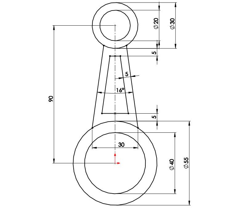 4-SOLIDWORKS-modelovaci-navod-postup-tutorial-stojan-pevnostni-analyza