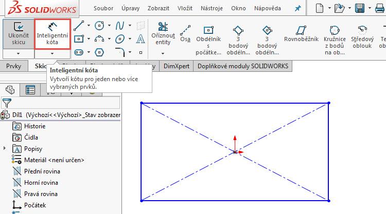 1-SolidWorks-nacrt-skica-kota-automaticky