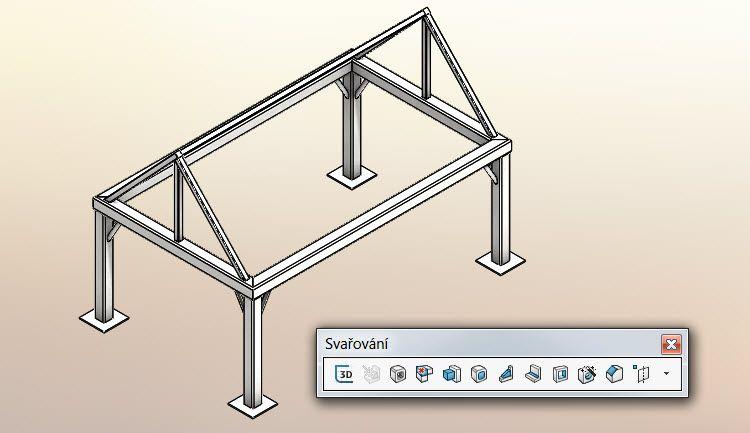 11-SolidWorks-svarovani-weldments-modelovani-konstrukce