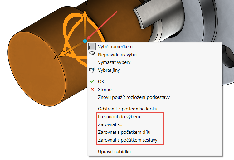 7-SolidWorks-rozlozene-pohledy-navod-tutorial-postup-jak
