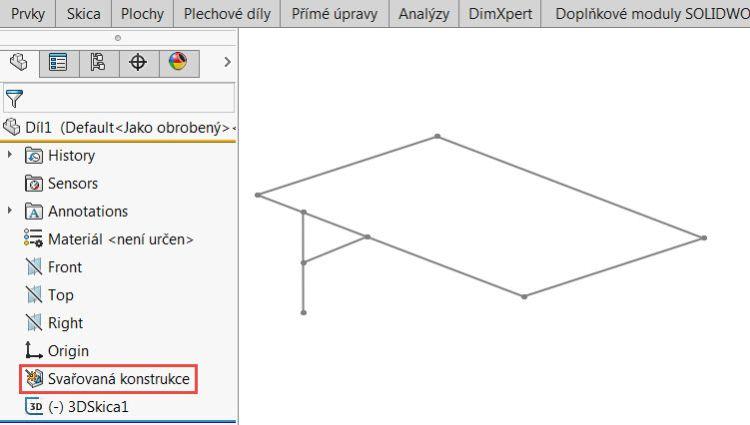 8-SolidWorks-svarovani-weldments-modelovani-konstrukce