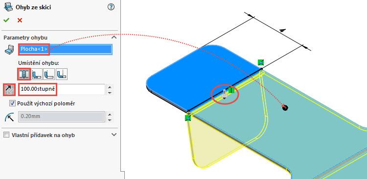 15-SolidWorks-Plechove-dily-prevod-rozvinuteho-importovaneho-modelu-na-plechovy-dil