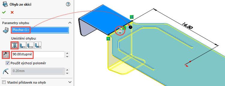 17-SolidWorks-Plechove-dily-prevod-rozvinuteho-importovaneho-modelu-na-plechovy-dil
