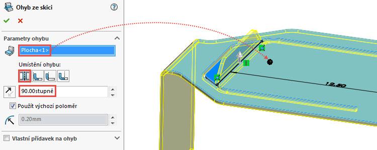 19-SolidWorks-Plechove-dily-prevod-rozvinuteho-importovaneho-modelu-na-plechovy-dil