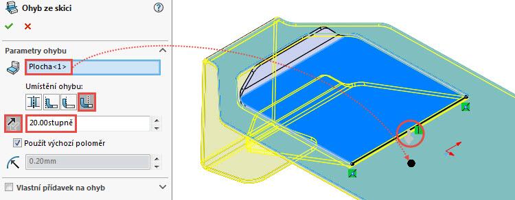 21-SolidWorks-Plechove-dily-prevod-rozvinuteho-importovaneho-modelu-na-plechovy-dil