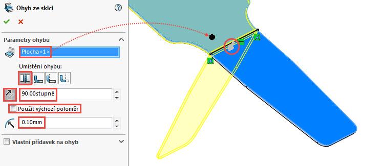 26-SolidWorks-Plechove-dily-prevod-rozvinuteho-importovaneho-modelu-na-plechovy-dil