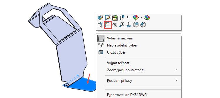 30-SolidWorks-Plechove-dily-prevod-rozvinuteho-importovaneho-modelu-na-plechovy-dil