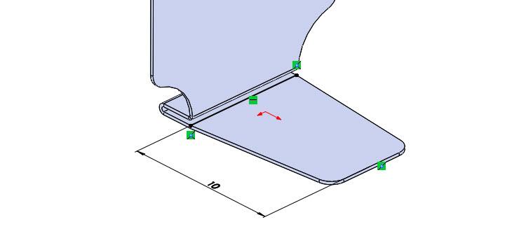 31-SolidWorks-Plechove-dily-prevod-rozvinuteho-importovaneho-modelu-na-plechovy-dil