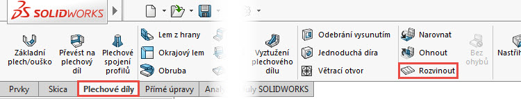 34-SolidWorks-Plechove-dily-prevod-rozvinuteho-importovaneho-modelu-na-plechovy-dil