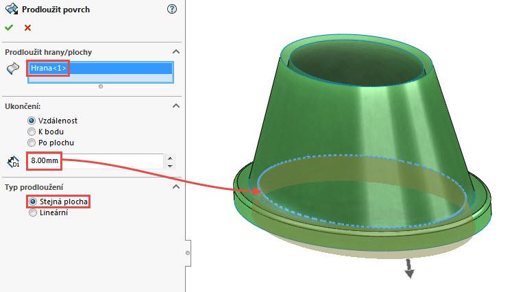 34-SolidWorks-prace-s-plochami-14-1-priklad-postup-reseni-modelovani-ploch-zaklady