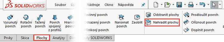 51-SolidWorks-prace-s-plochami-14-1-priklad-postup-reseni-modelovani-ploch-zaklady